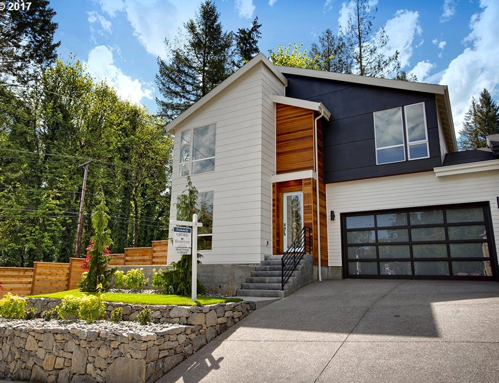 SW Boones Ferry Road and SW Palatine: Modern, Urban Living in the Hills of SW Portland